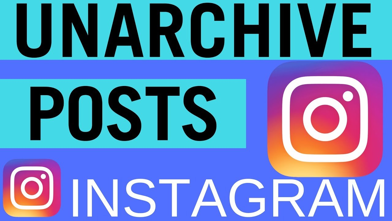 How to Unarchive Instagram